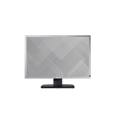 "Dell UltraSharp U2412M 61cm (24"") skärm i widescreenformat VGA,DVI-DP (1920×1200) silverfärgad"