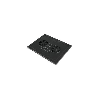 StarTech.com Lightweight Laptop Cooler with 2 Fans  Notebook fan  black