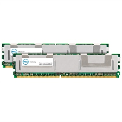 8 GB (2 x 4 GB) Memory Module For Selected Dell Systems  DDR2667 FBDIMM 2RX4 ECC