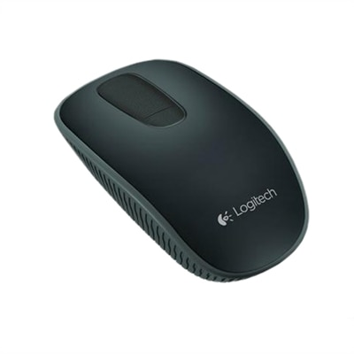 Logitech Zone Touch Mouse T400  Mouse  optical  3 button(s)  wireless  2.4 GHz  USB wireless receiver  black