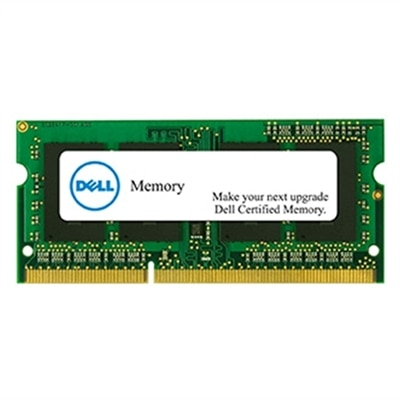 4 GB Memory Module For Selected Dell Systems  DDR31600 SODIMM 2RX8 NonECC