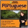 Instant Immersion Brazilian Portuguese Level 1 - License - 1 user - download - Win, Mac