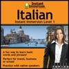 Instant Immersion Italian Level 1 - License - 1 user - download - Win