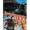 BioShock Infinite with The Elder Scrolls V: Skyrim - PS3