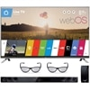 LG 65 Inch LED Smart TV 65LB7100 3D HDTV with webOS and 3D glasses (2pcs) with Free Soundbar NB3530
