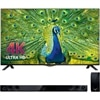 LG 49 Inch 4K Smart LED TV 49UB8200 HDTV with Free LG 2.1 Channel Soundbar with Wireless Subwoofer