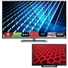 Vizio 55 Inch LED Smart TV M552I-B2 HDTV and Vizio 24 Inch LED TV E241-B1 HDTV Bundle