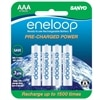 Panasonic rechargeables NI-MH batteries AAA-8