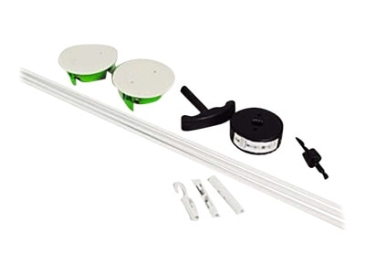 CablesToGo C2G Wiremold Wall Grommet Kit - Cable wall grommet kit - white - 16315