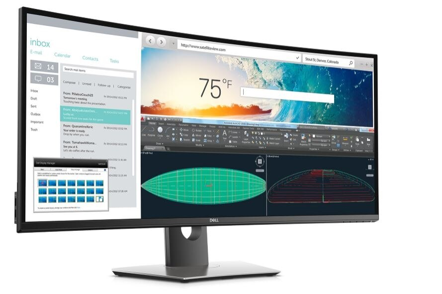 Dell UltraSharp 38 Curved Monitor: U3818DW