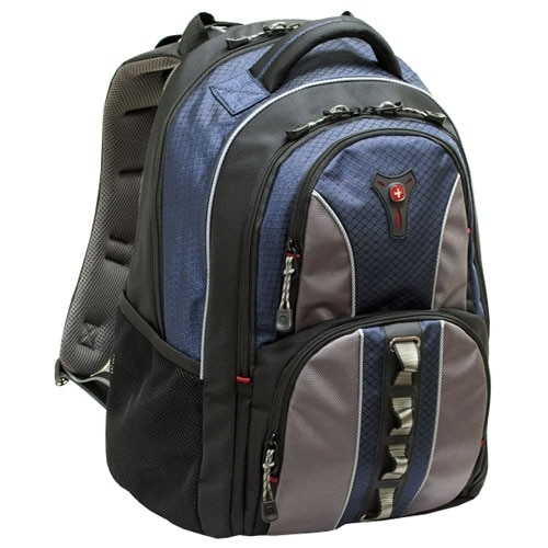 Swiss Gear Cobalt Computer Backpack - Fits Laptops with Screen Sizes Up to 15.6-inch - Blue