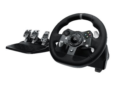 Logitech G920 Driving Force - Wheel and pedals set - wired -