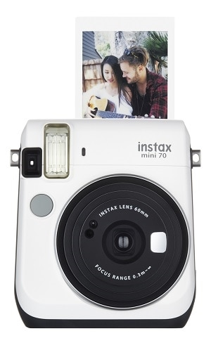 Click here for FujiFilm Instax Mini 70 - Instant camera - lens: 60 mm - moon white prices