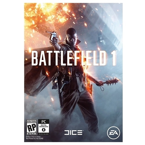 Electronic Arts Battlefield 1 Preorder Edition - PC - Electronic Software Download