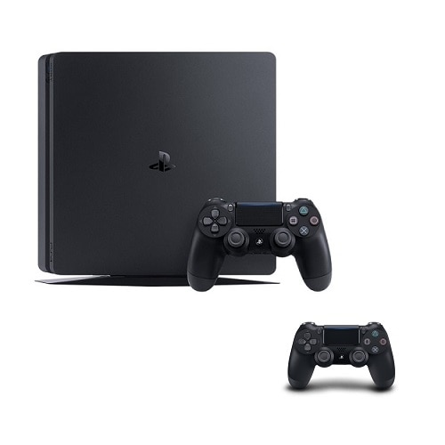 Sony PS4 Slim 500 GB Uncharted 4 console + Extra DualShock 4 controller - KT-UC4-DS4