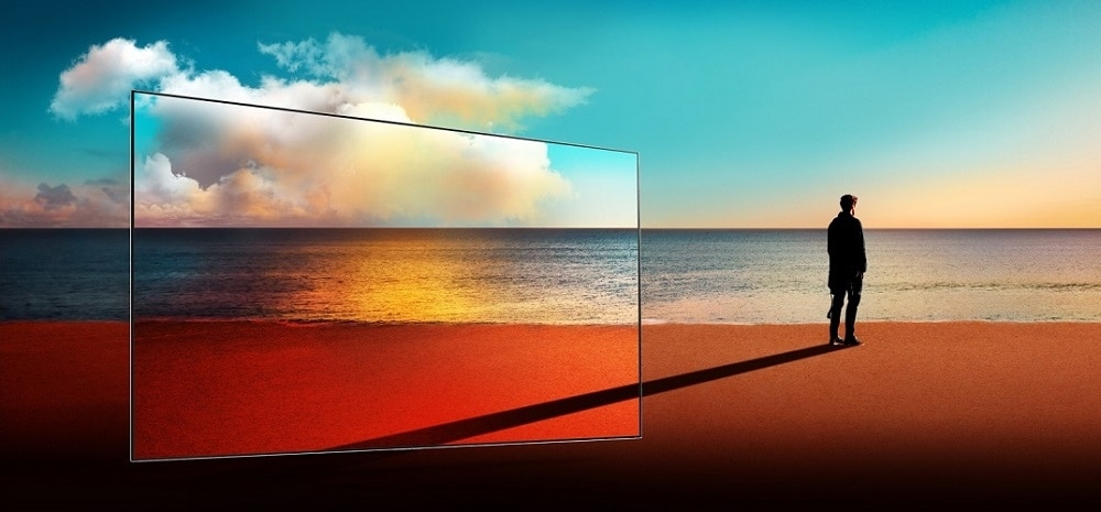 LG 55 Inch OLED 4K Ultra HD Smart TV OLED55B7A with HDR