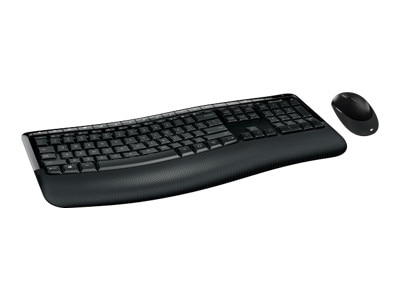 Microsoft Corporation Microsoft Wireless Comfort Desktop 5050 - Keyboard and mouse set - wireless - 2.4 GHz - English - North American layout - PP4-00001