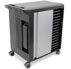 Imagen del producto Carrito de informática móvil no administrado para carga de laptops, tabletas y educación de Dell