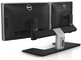 Dell Dual Monitor Stand Product Shot
