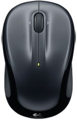 Photo de la souris sans fil M325 argent fonc de Logitech