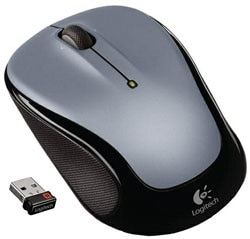 Logitech M325 Wireless Mouse - Light Silver Product Shot
