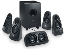 Logitech Z506 5.1   Surround Speakers Product Shot