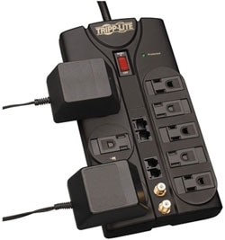 Tripp Lite TLP810NET Surge Suppressor Product Shot