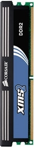 CORSAIR XMS2 2GB Dual Channel DDR2 Memory Kit Product Shot