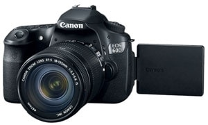 Canon EOS 60D Digital SLR Camera with EF-S 18-135mm IS Lens Product Shot