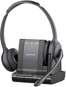 Plantronics Savi W720 Standard Over-the-Head Binaural Wireless Headset Product Shot
