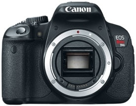 Canon Rebel T4i EOS Digital SLR Camera Product Shot