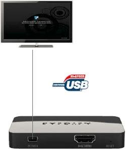 PTV3000 Push2TV - Wireless Display Adapter Product Shot