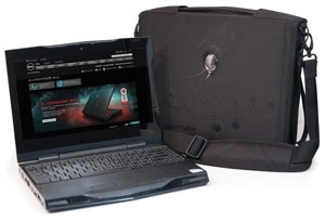 Photo de la sacoche Orion pour ordinateur Alienware M11x