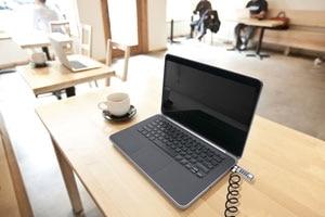 Immagine del lucchetto con combinazione Dell LC300