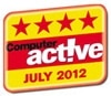 Computer active July 2012 Award
