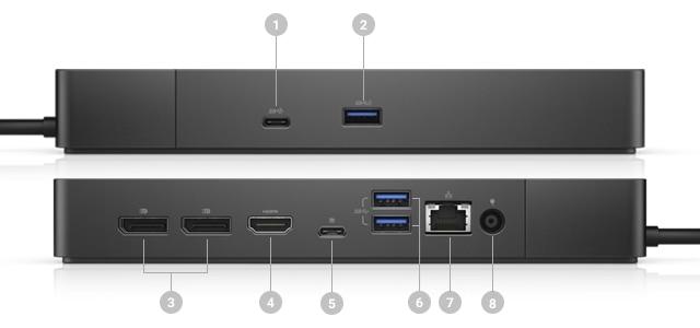 Dell Dock: WD19S de 130W