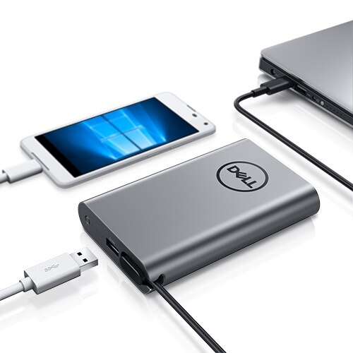 Hybridadapter + powerbank USB-C | PH45W17-CA