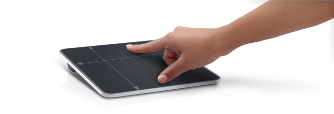 Dell Wireless Touchpad with Four-Point Multi-Touch from Edge to Edge