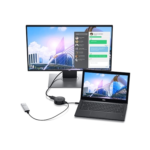 Adaptateur mobile USB-C Dell DA300