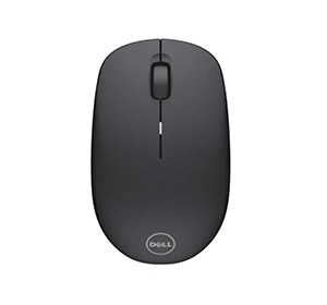 Mouse inalámbrico WM126 de Dell: negro