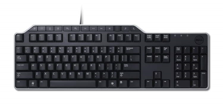 DELL KB522 WIRED BUSINESS MULTIMEDIA KEYBOARD (BLACK), 1YR