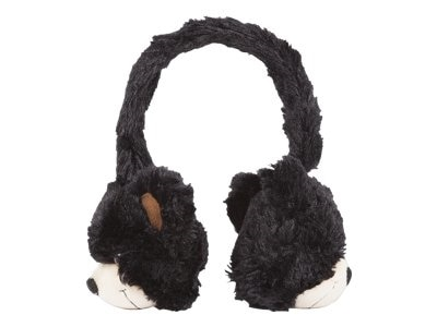 Emerge Technologies ReTrack Animalz Bear Etaudfbear Headphones full size 3.5 mm plug