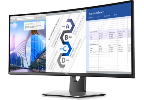 Dell UltraSharp 34 Curved Monitor U3417W GWN1P