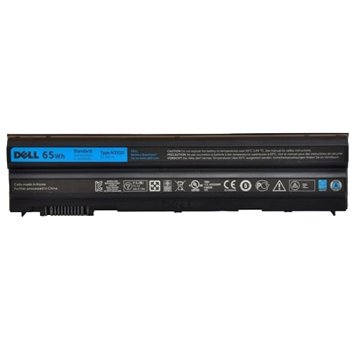 Dell 65 WHr 6 Cell Primary Battery 2N6MY