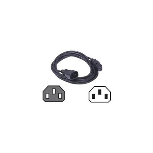 Dell Power Cord C13 to C14 PDU Style 12 Amps 2 meters Quantity 1 Customer Install K855M