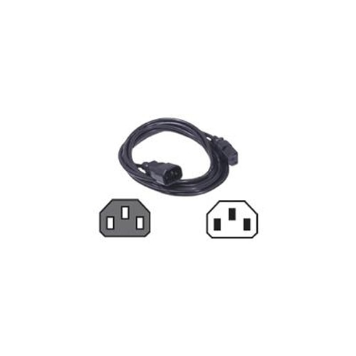 Dell Power Cord C13 to C14 PDU Style 12 Amps 4 meters Quantity 1 Customer Install K853M
