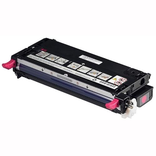 Dell 3110cn 3115cn Magenta Toner 8000 pg high yield part G413M sku 330 3703 T473N