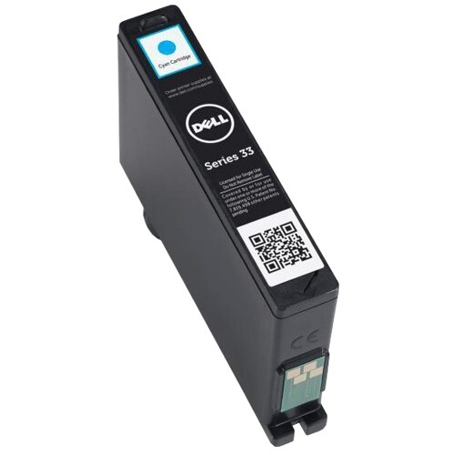 Dell Single Use Extra High Capacity Cyan Ink Cartridge for V525w V725w All in One Wireless Inkjet Printer 8DNKH