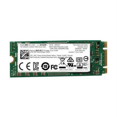 Dell Solid state drive 64 GB internal M.2 Sata 1PV2T