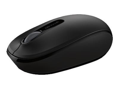 Microsoft Corporation Microsoft Wireless Mobile Mouse 1850 Mouse optical 3 buttons wireless 2.4 GHz USB wireless receiver black U7Z 00001